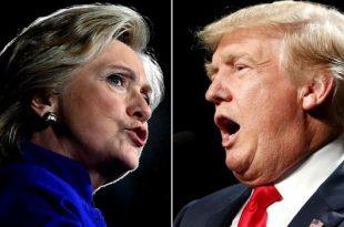 كلينتون تقدم التهنئة لترامب بفوزه برئاسة الولايات المتحدة الأمريكية