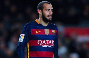أليكس فيدال لاعب برشلونة يثير بعض الشكوك حوله من قبل النادي الكتالوني