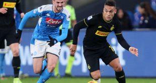 موعد مباراة إنتر ميلان اليوم ضد نابولي والقنوات الناقلة في قمة الأسبوع 37 في الدوري الإيطالي