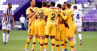برشلونة ينتصر بشق الأنفس على ريال بلد الوليد بهدف نظيف لفيدال وتألق شتيجن في حماية عرين البرسا