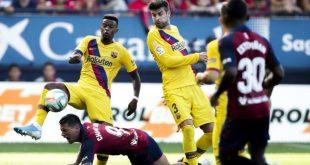 موعد مباراة برشلونة ضد أوساسونا والقنوات الناقلة غدا الخميس 16 يوليو 2020