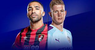 موعد مباراة مانشستر سيتي القادمة ضد بورنموث والقنوات الناقلة الأربعاء 15 يوليو 2020