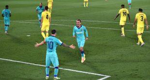 برشلونة يظهر بشكل مُغاير تماما ويكتسح فياريال في قلب ملعبه برباعية مقابل هدف