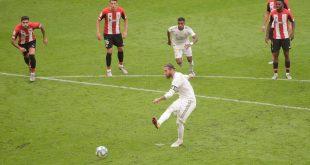 ريال مدريد بنفس سيناريو مباراة خيتافي يسرق إنتصارا هاما للغاية على حساب أتليتك بلباو ويقترب كثيرا من الليجا