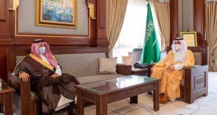 الأمير فيصل بن سلمان يستقبل مدير الجامعة الاسلامية
