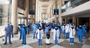 دبي تحتفل بغلق المستشفي الميداني بعد تعافي أخر مصاب بفيروس كورونا
