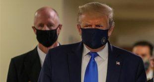 ارتداء الرئيس الأمريكي للقناع الواقي لأول مرة منذ جائحة كورونا