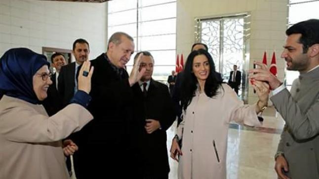أردوغان يطلب يد إيمان الباني إلي مراد يلدريم