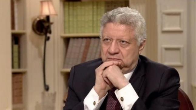 تصاعد الخلاف بين مرتضى منصور وسيف العماري