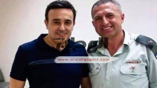 صابر الرُباعي يرد علي الجدل المُثار حول صورته مع الضابط الإسرائيلي