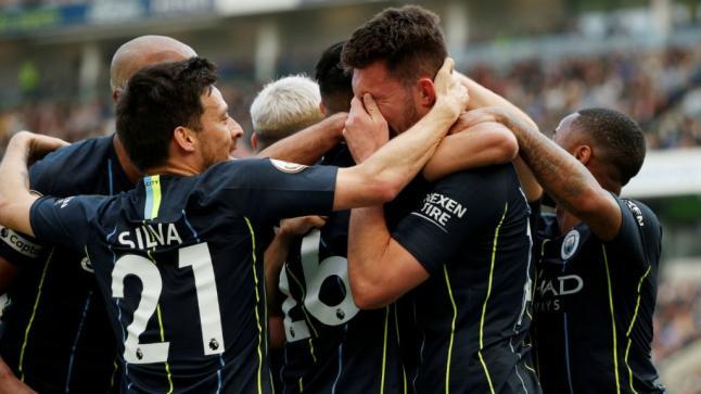 مانشستر سيتي يتوج بطلا للدوري الانجليزي للمرة الرابعة خلال المواسم الثمانية الأخيرة