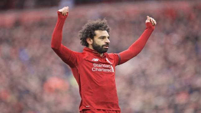 النجم المصري محمد صلاح يؤكد على جاهزيته لخوض مباراة فريقه النهائية في الدوري الانجليزي