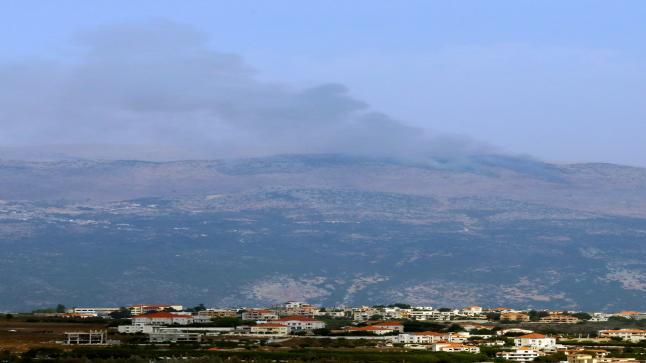 اشتباكات بين حزب الله والكيان الصهيوني جنوب لبنان